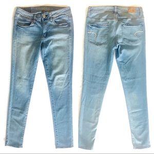 6 AEO American Eagle Super Stretch Jegging Jeans